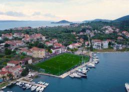 VIDEO: Stunning Croatian Island Football Ground Opens