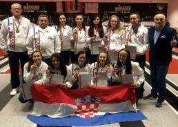 Croatian Women's Team New Ninepin Bowling World Champions
