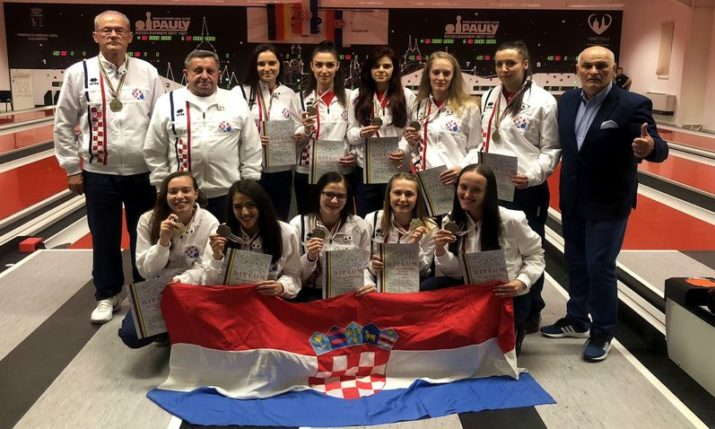 Croatian Women's Team New Ninepin Bowling World Champions