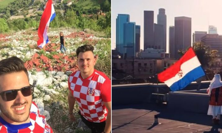 VIDEO: Croatian World Cup Fans' Song from the Diaspora 'Sve Za Hrvatsku'