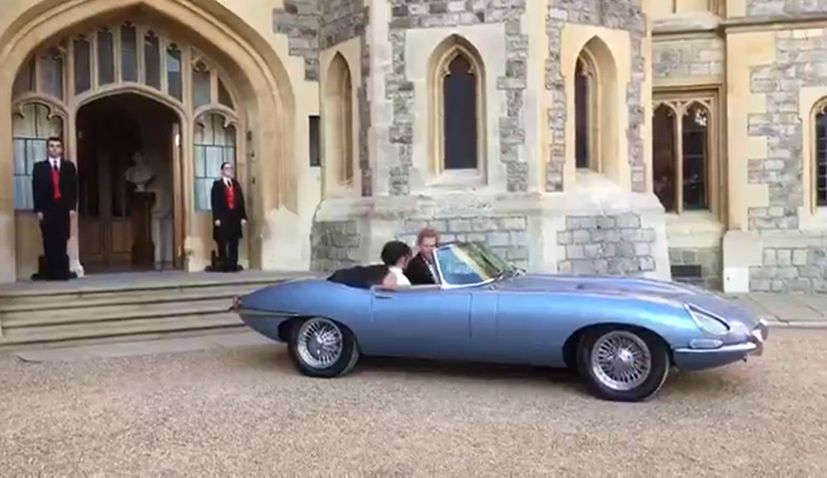 croatian technology in the royal couple's jaguar | croatia week