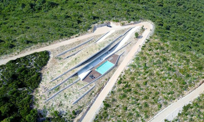 Unique Hidden Croatian Island Villa Wins International Architect Award