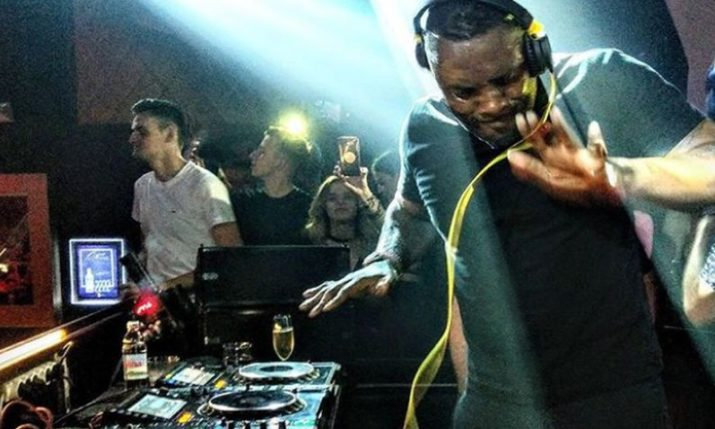 VIDEO: Actor Idris Elba DJs at Zagreb Club