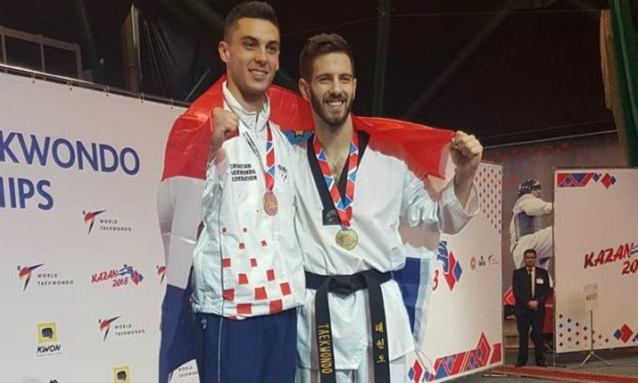 Double Gold Medal Success for Croatia at 2018 European Taekwondo Championships