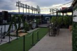 New Rooftop Garden Bar Opens on Zagreb's Tallest Skyscraper