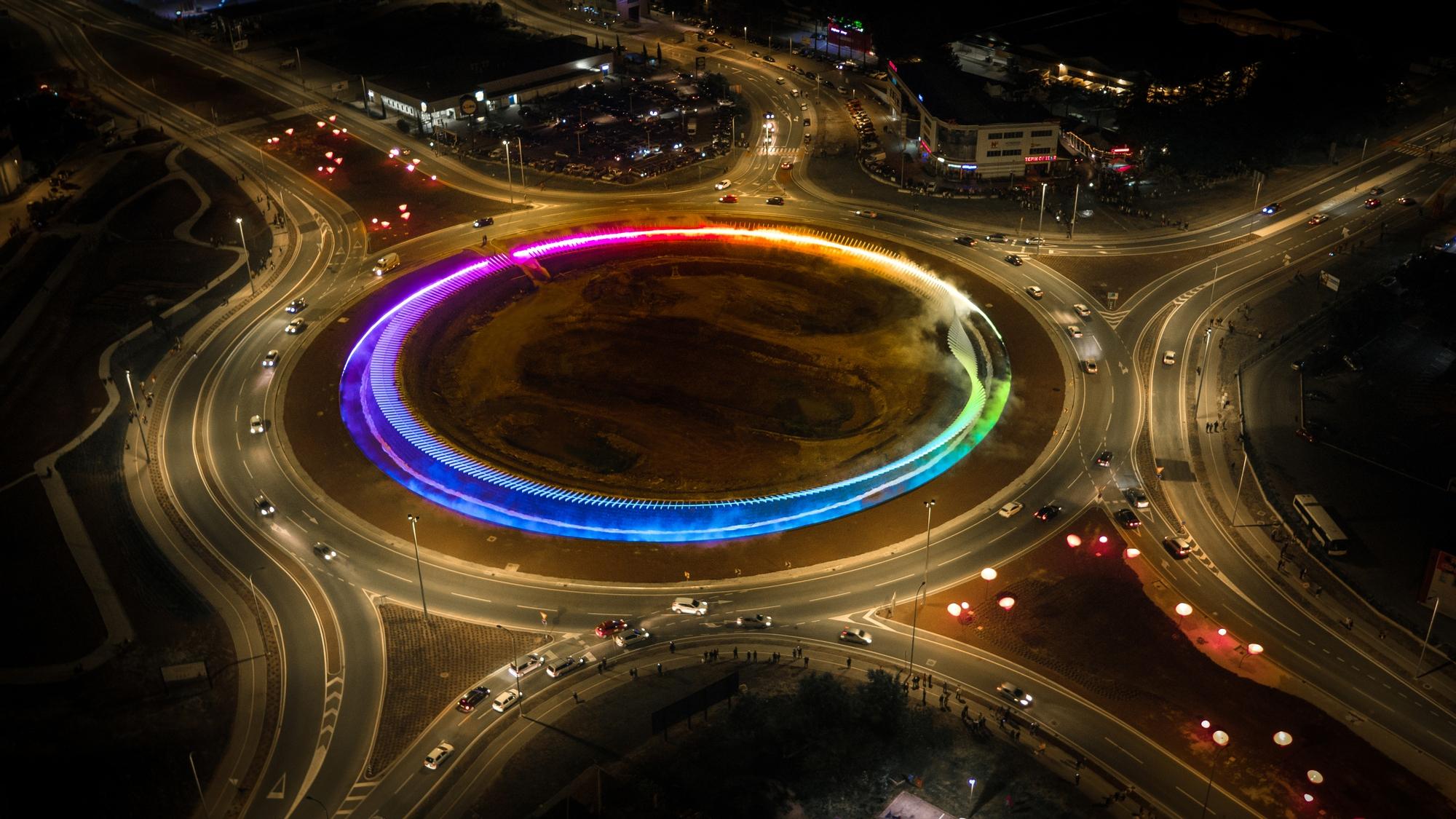 Croatian Roundabout Project Wins At Lighting Design Awards