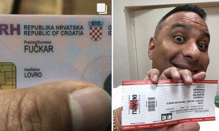 VIDEO: Comic Russell Peters Meets the Fuckars in Croatia