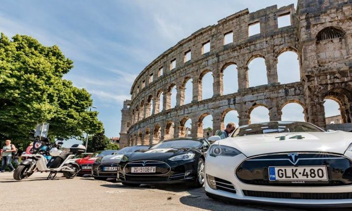 Nikola Tesla EV Rally Croatia 2018 Set to Start