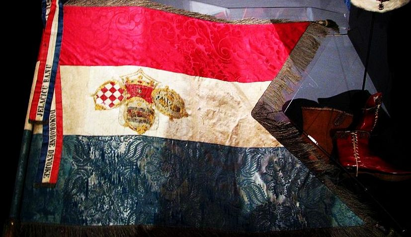 172nd anniversary of the Croatian flag marked today