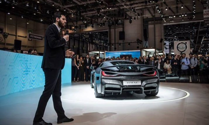 Croatia's Mate Rimac Up for World Entrepreneur Of The Year Award in Monaco