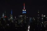 Empire State Building in New York Lights Up in Croatian Colours