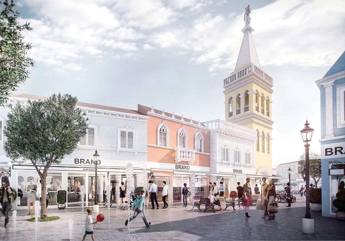 Opening of designer outlet croatia delayed croatia week for Design outlet