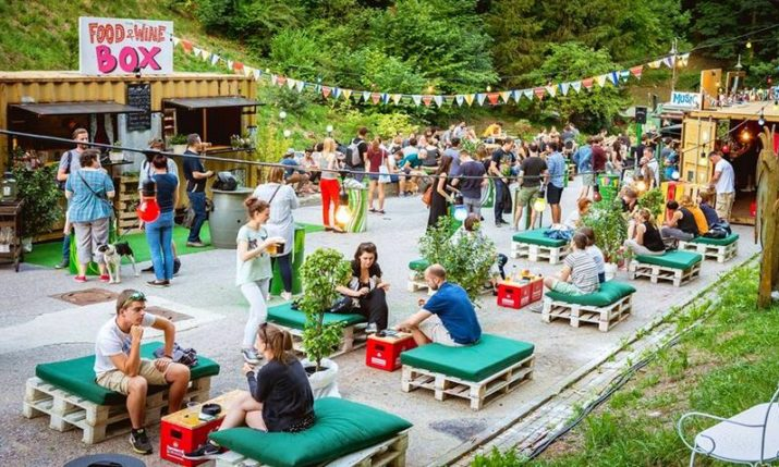 Pop Up Summer Garden Opens in Zagreb