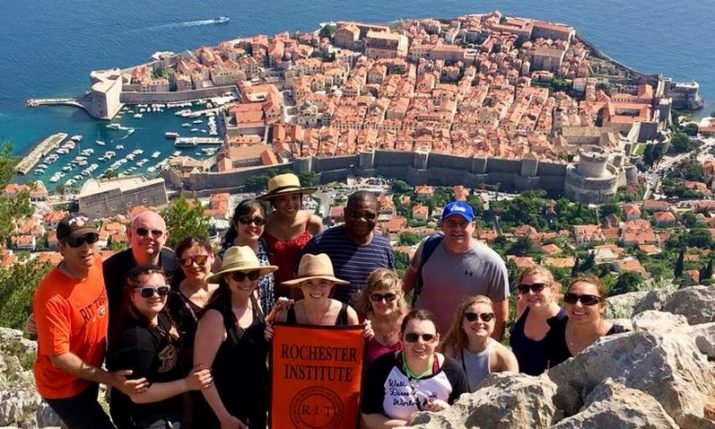 Studying Abroad: RIT Students & Parents from the US Explore Croatia