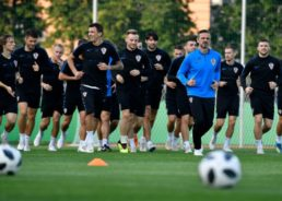 PHOTOS: 5 Croatian Players Sit Out First Training Ahead of World Cup Final