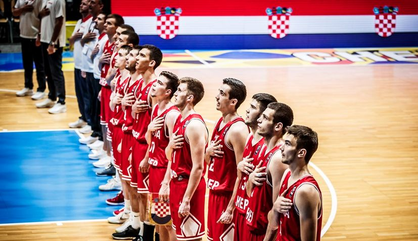 Croatia Claims Historic U20 Medal in Basketball at European Championships in Germany
