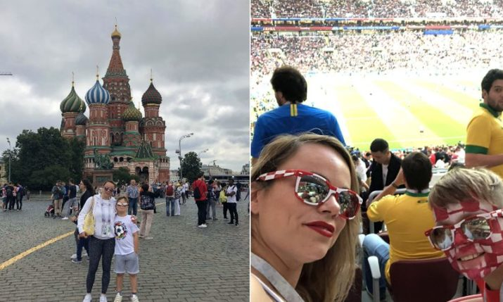 Diary of a Croatian Mum Taking Her Son to Watch the World Cup Semi-Final in Moscow