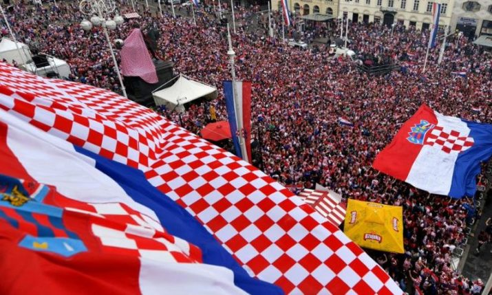Biggest Street Parade to Welcome Croatian World Cup Heroes Home on Monday