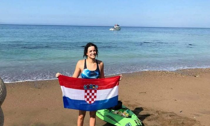 Croatian Swimmer Dina Levacic to Swim from Island of Vis to Split for Charity