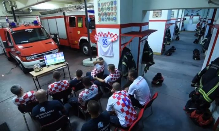 VIDEO: Zagreb Firefighters Send Humorous Appeal to Fans
