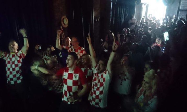 VIDEO: How the Croatian Fans Celebrated in the Heart of London
