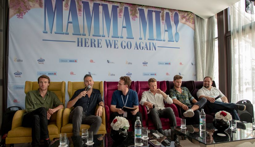 Cast & Crew of Mamma Mia: Here We Go Again! in Pula Ahead of Croatian Premiere