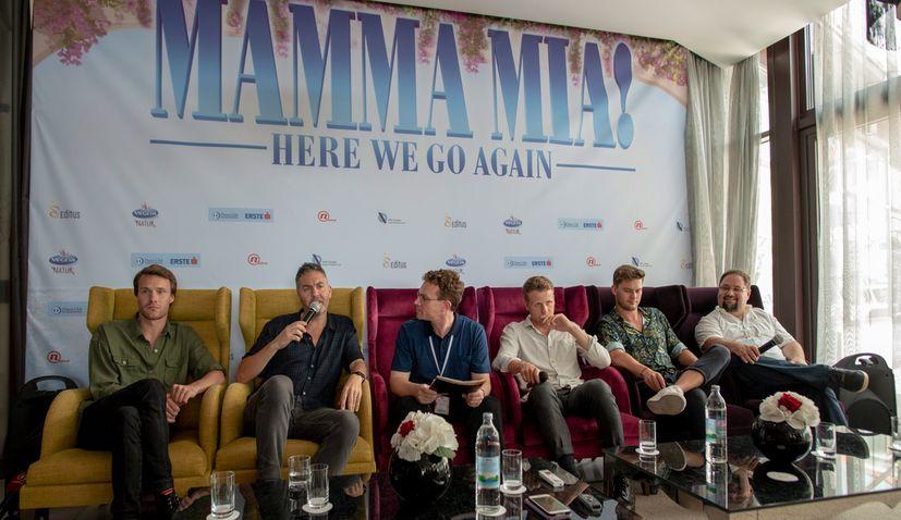 Cast & Crew of Mamma Mia: Here We Go Again! in Pula Ahead of Croatian Premiere