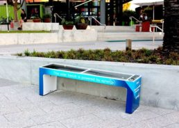 Croatian Smart Benches Find New Home at Australian University