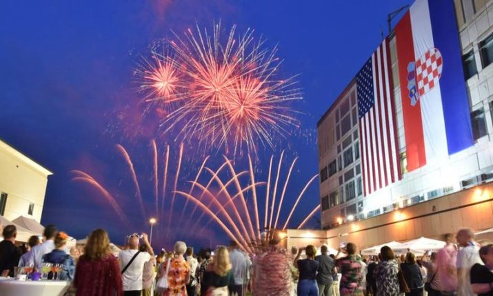 Americans Celebrate Independence Day in Zagreb