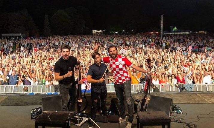 VIDEO: 2CELLOS Perform in London & Wind Up Crowd