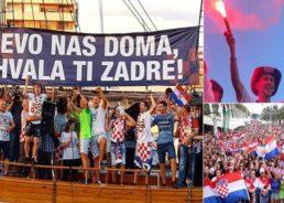 VIDEO: Big Parties for Croatian Players in Split, Zadar, Slavonia, Varazdin, Karlovac…