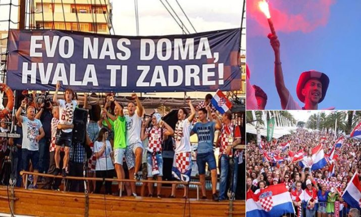 VIDEO: Big Parties for Croatian Players in Split, Zadar, Slavonia, Varazdin, Karlovac…