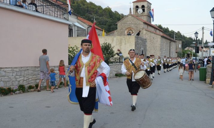 Village of Pupnat on Korčula Island Celebrates its Big Day
