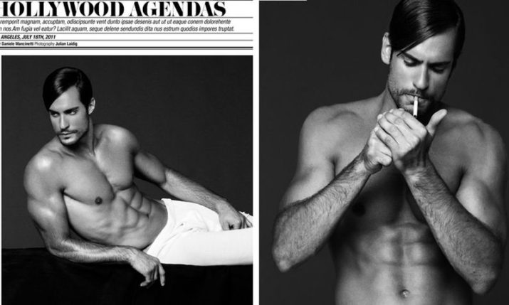 Successful Croatian International Male Model Building Hollywood Career