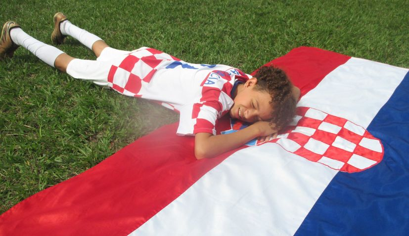 Meet the Croatia-Mad Brazilian Kid whose Šime Vrsaljko Reenactment went Viral