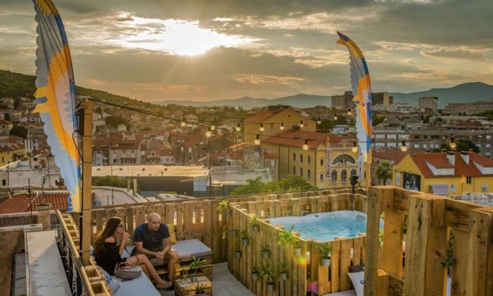 PHOTOS: Cool New Summer Rooftop Bar in Split Open