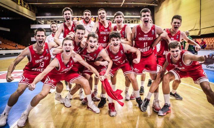 U16 European Basketball Championships: Croatia into Semifinals
