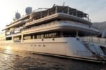 One of the World's Biggest Superyachts Visits Korčula Island
