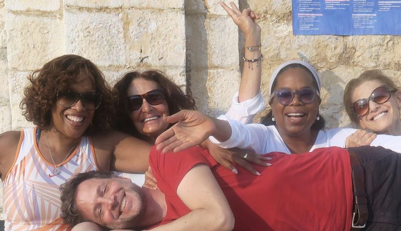 Oprah Winfrey Holidaying on the Croatian Coast