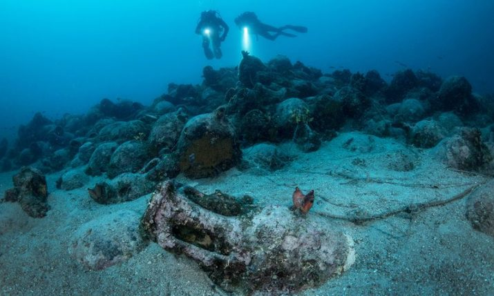 Wreck of 2,000-year-old Roman Ship Found Near Island of Pag