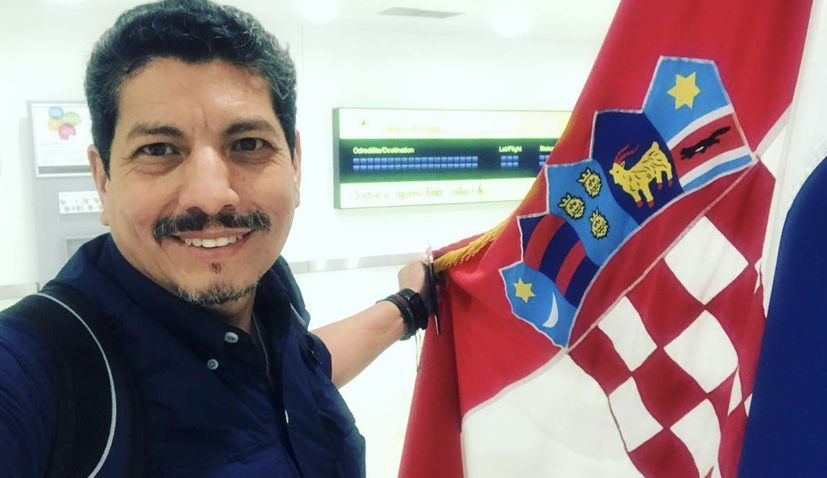 Trampled World Cup Photographer Yuri Cortez Arrives in Croatia after Tourist Board Invitation