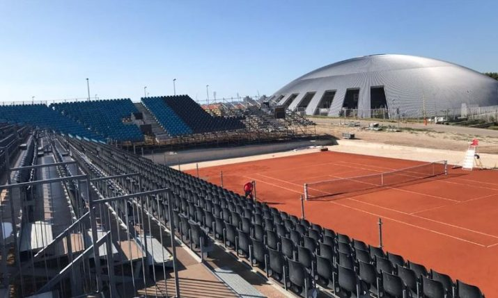 PHOTO: Zadar Readies for Croatia v USA Davis Cup Semifinal