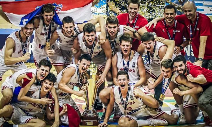U16 European Basketball Championships: Croatia is the Champions of Europe