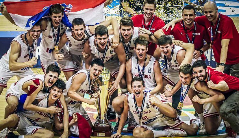U16 European Basketball Championships: Croatia is the Champions of Europe