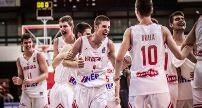 U16 European Basketball Championships: Croatia Beat Reigning Champs France to Reach Final
