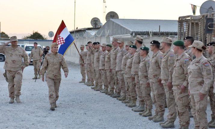 President Kolinda Grabar-Kitarović Meets Members of Croatian Contingent in Afghanistan