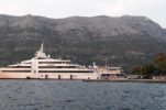 $100m Superyacht Owned by 'Screw King' Docks in Korčula