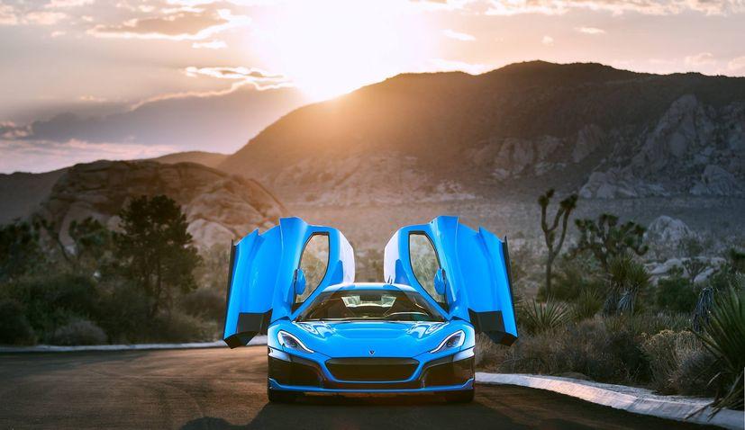 Californian Editon of Rimac Hypercar Arrives in Los Angeles