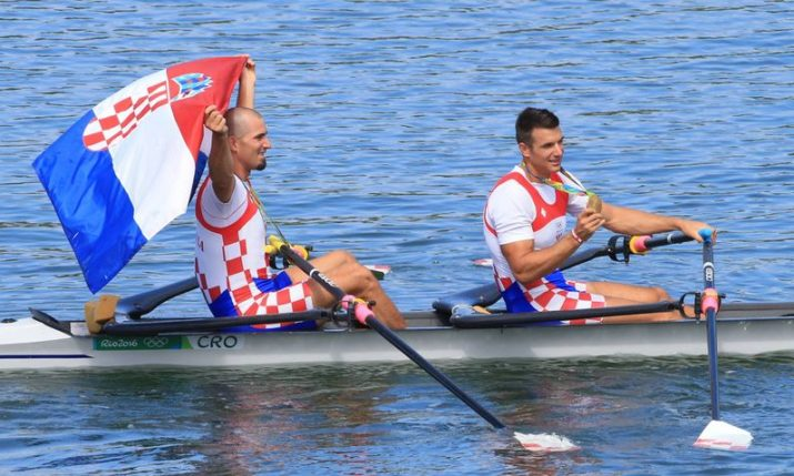 Croatia's Sinković Brothers Win European Rowing Gold Medal in Glasgow