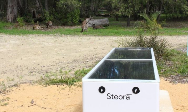 Croatian Smart Bench Installed at Yalgorup National Park in Western Australia